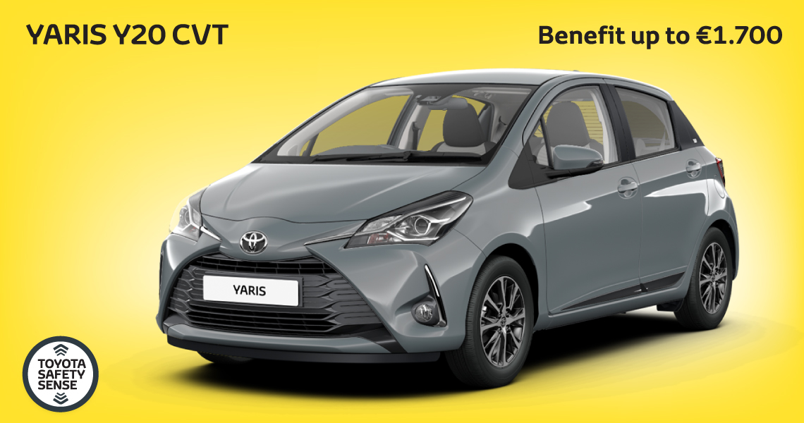 Toyota Yaris Y20 CVT Offer Unlocked