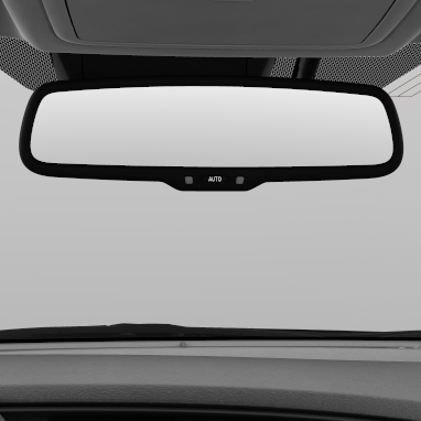 Electrochromatic rear-view mirror