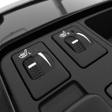 Driver and passenger heated seats