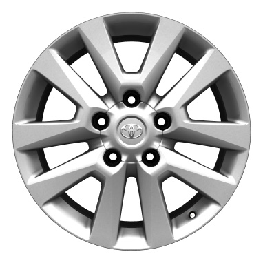 "20"" alloy wheels (10-spoke)"