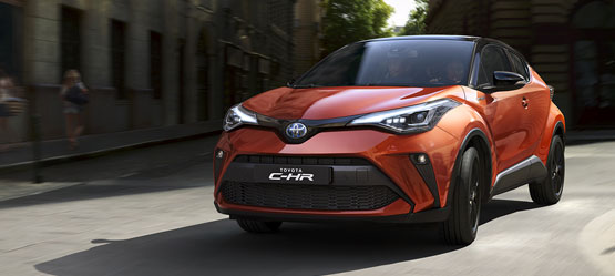 Toyota C-HR: upgrade de finition offert