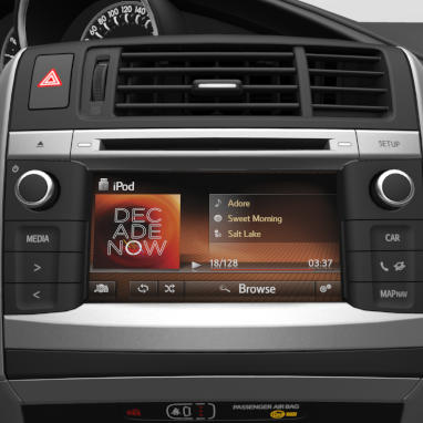 Multimedia-Audiosystem Toyota Touch2 ®
