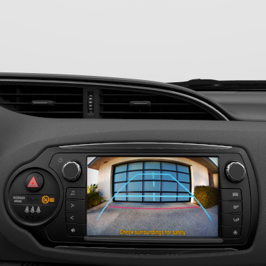 Rear-view camera display