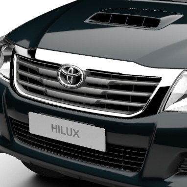 Radiator Grille: colour keyed with chrome accent