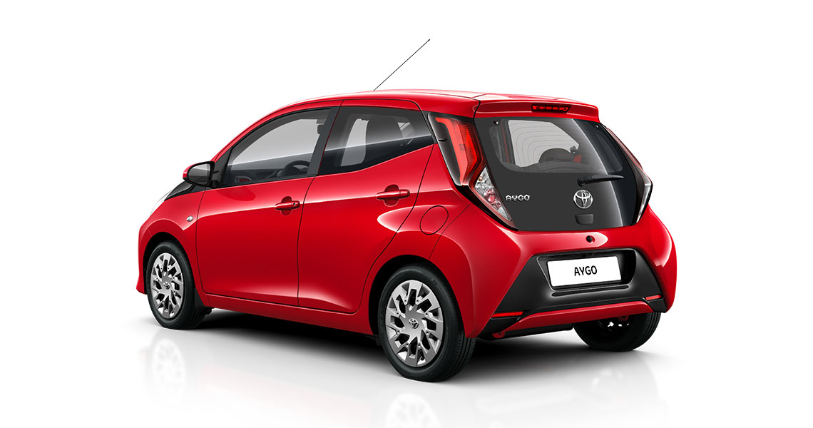 Aktionsmodell Aygo x-play