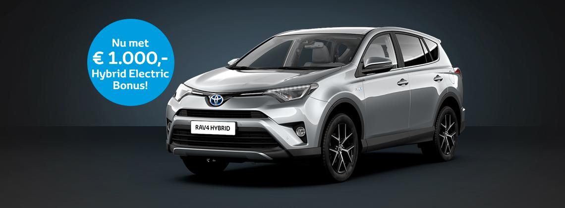 Profiteer Nu Van Hybrid Electric Bonus Op De Toyota Rav4