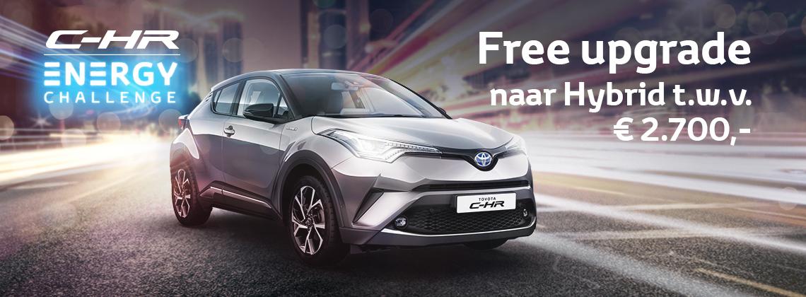 Doe de Toyota C-HR Energy Challenge